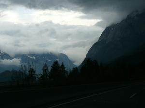 Dichte Wolken und Dauerregen vermiesen die Stimmung